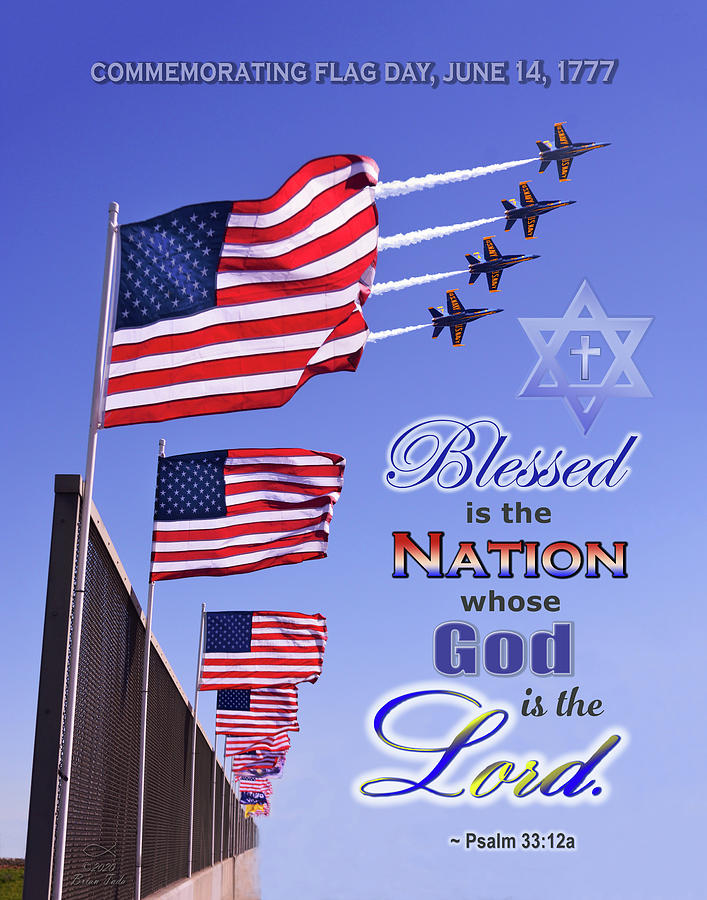 Blessed Is The Nation Whose God Is The Lord Photograph