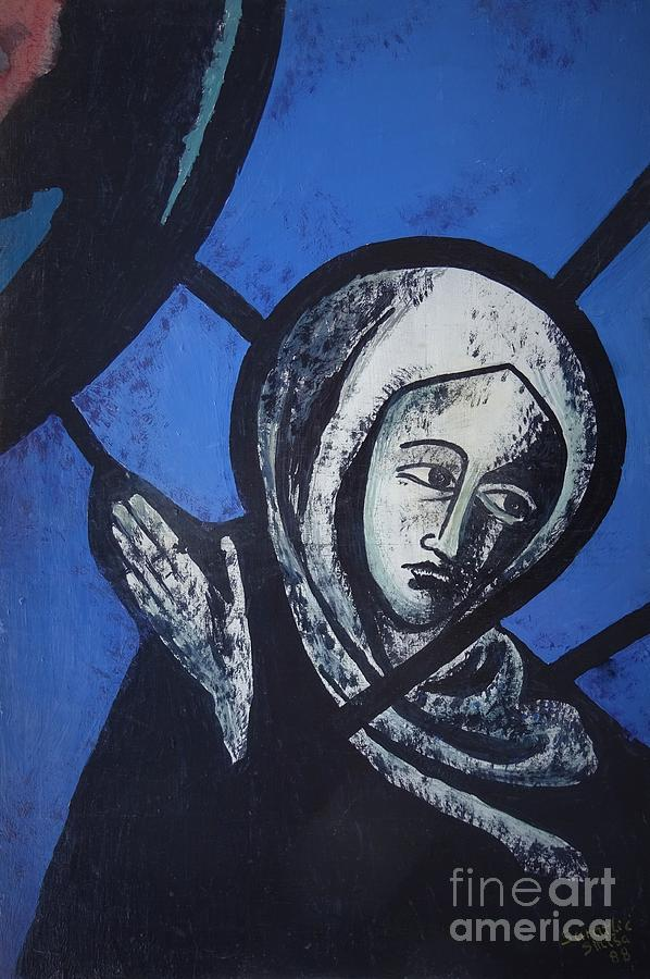 Blessed Virgin Mother Mary by Sinisa Saratlic