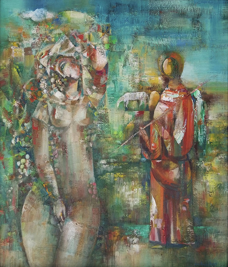 Abstract Painting - Blessing by Gasparyan S