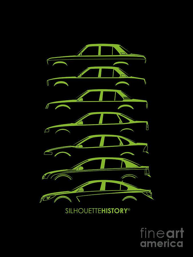 Blitz Family Sedan SilhouetteHistory by Gabor Vida