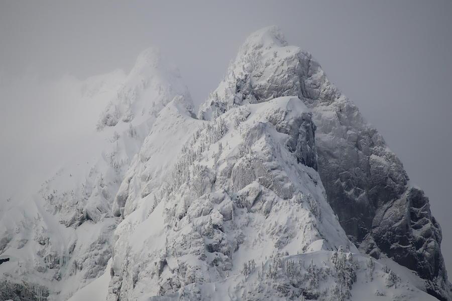 Blizzard Peaks - Golden Ears Park Photograph