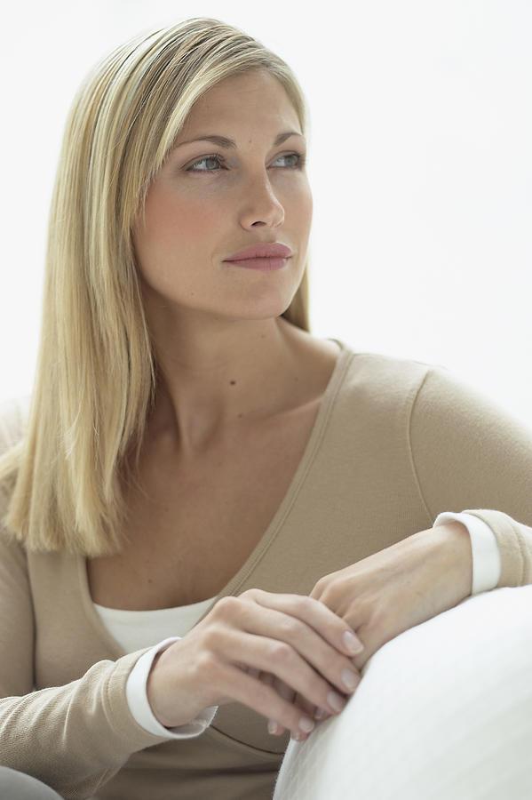 Blond Woman Photograph by Heidi Coppock-Beard