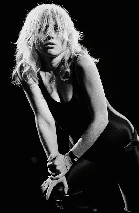 Blondie In Concert At The Whiskey Photograph by George Rose