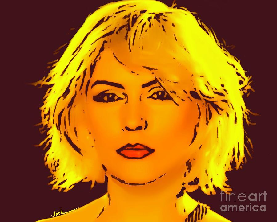 Blondie Painting - Blondie by Jack Bunds