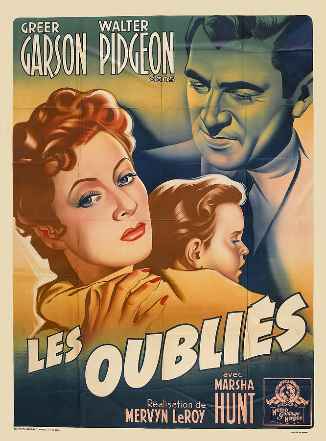blossoms In The Dust, With Greer Garson, 1941 Mixed Media