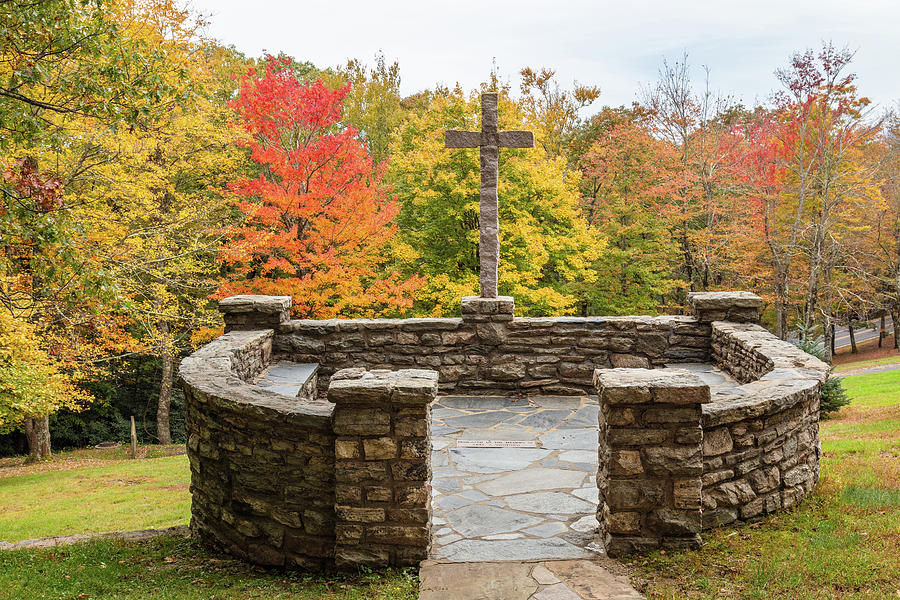 Blowing Rock Conference Center Stone Chapel Photograph