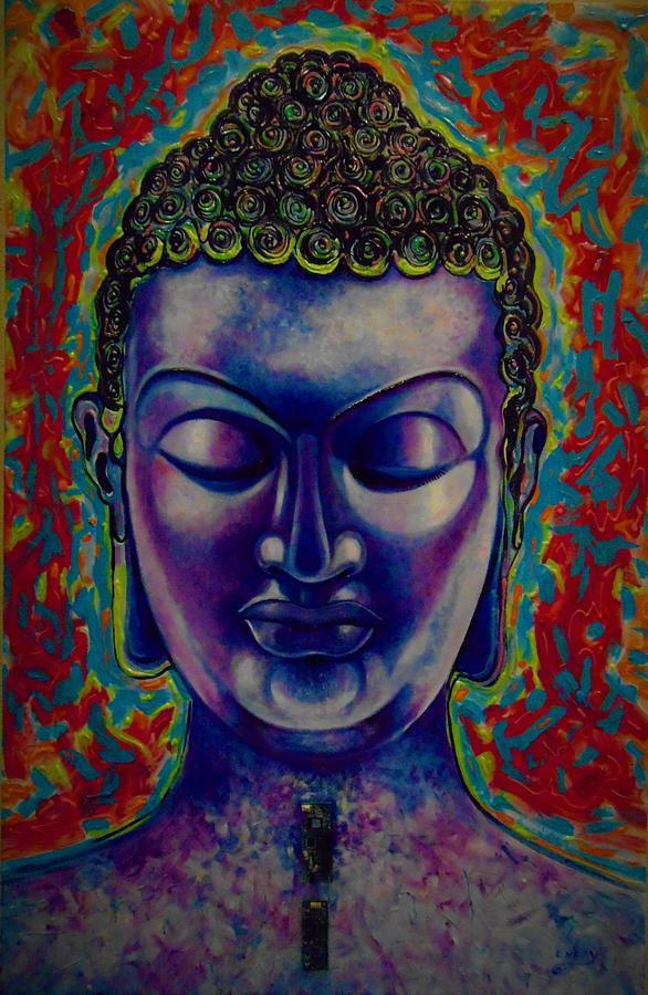 BLUE BUDHA by Emery Franklin