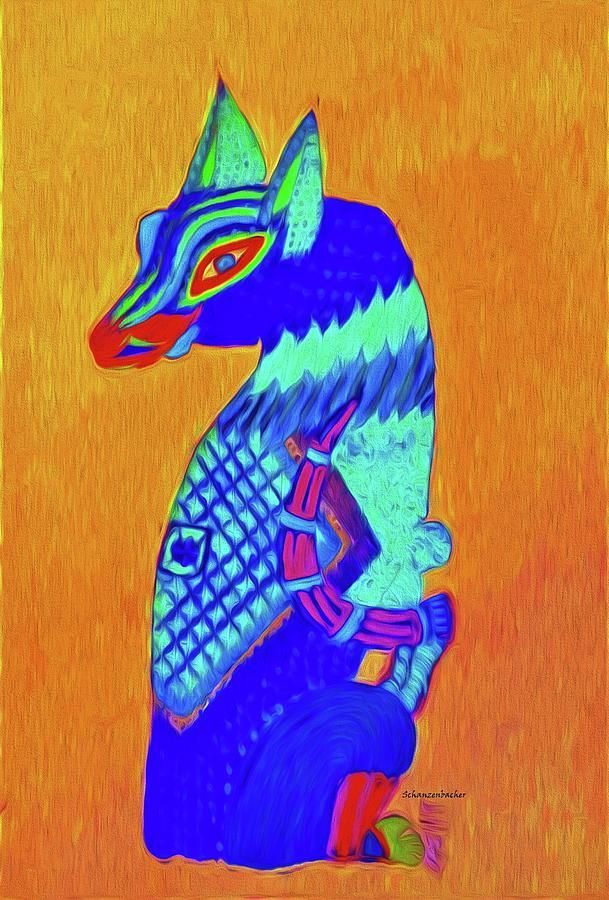 Blue Cat Digital Art