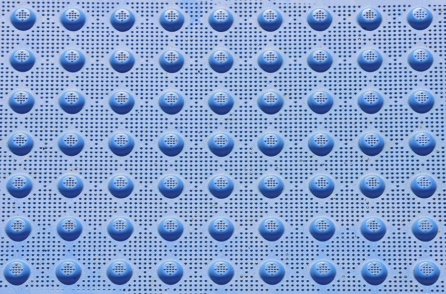 Blue Dots Photograph