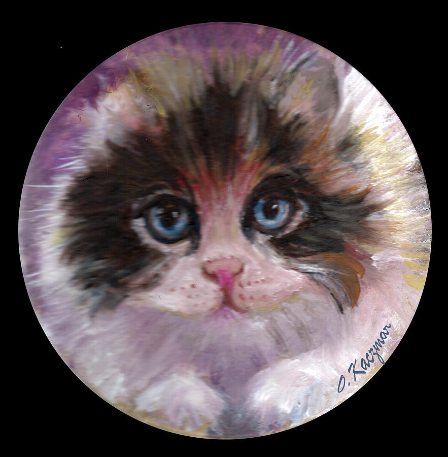 Blue Eyed Calico by Olga Kaczmar