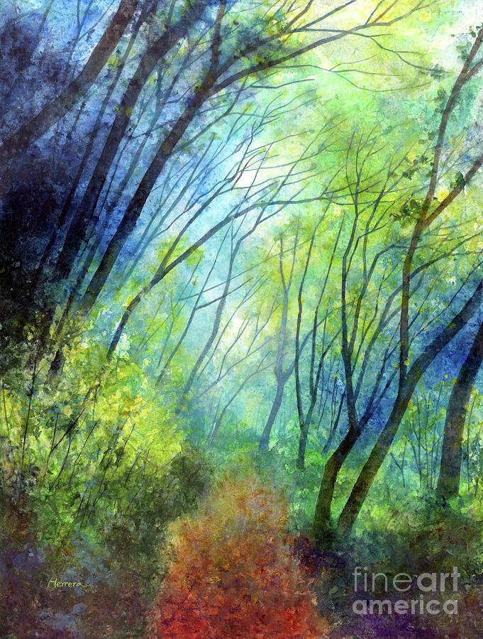 Blue Fog-pastel Colors Painting