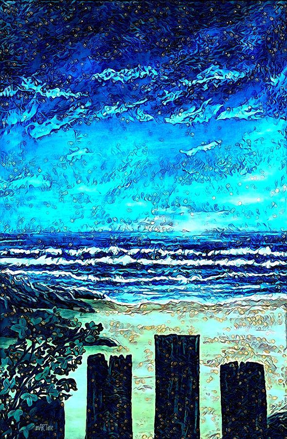 Blue Horizon Digital Art