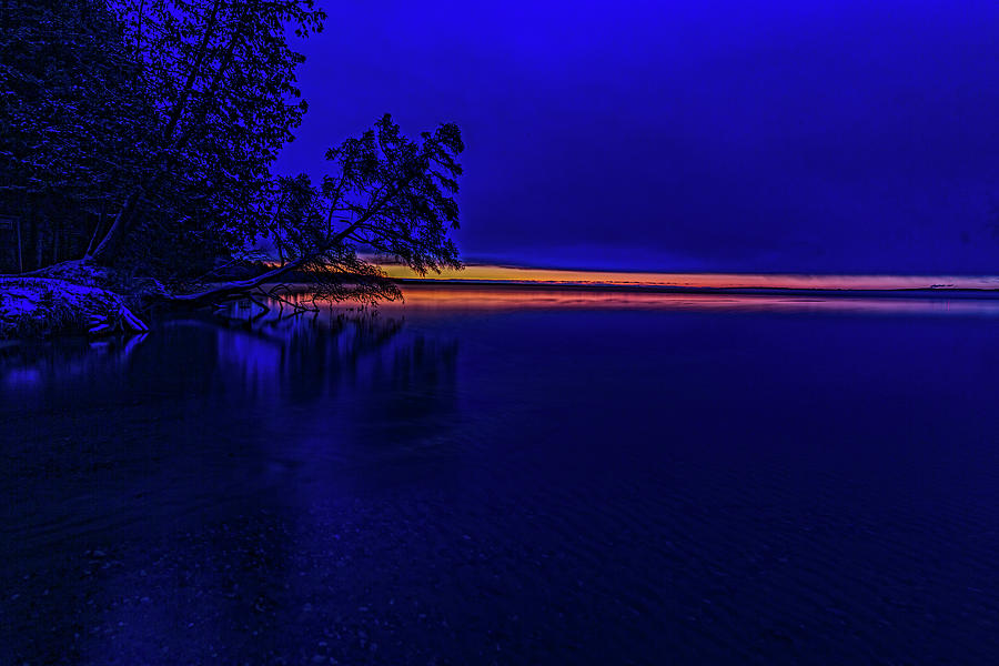 Blue Hour 7 Degrees by Joe Holley