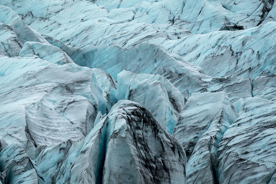 Blue Ice of Fjallsjokull by Catherine Reading