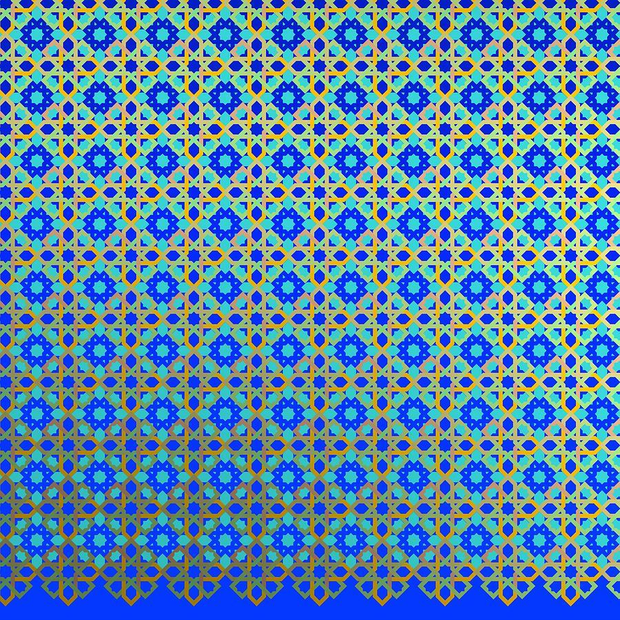 Blue Jealousy Over Blue Digital Art
