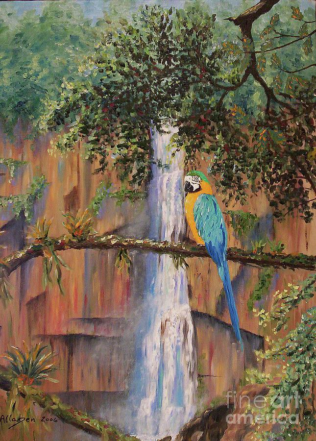 Blue Macaw by Stanton Allaben