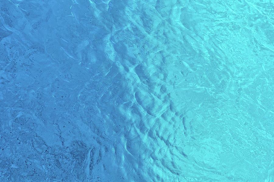Blue Mediterranean Photograph
