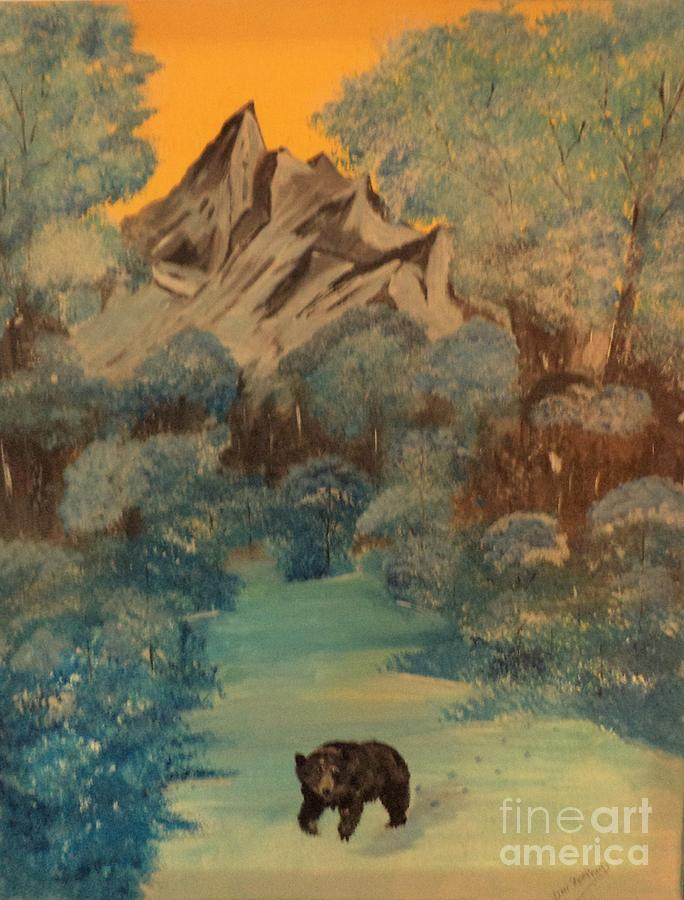 Blue Mountain Bear by Donald Northup