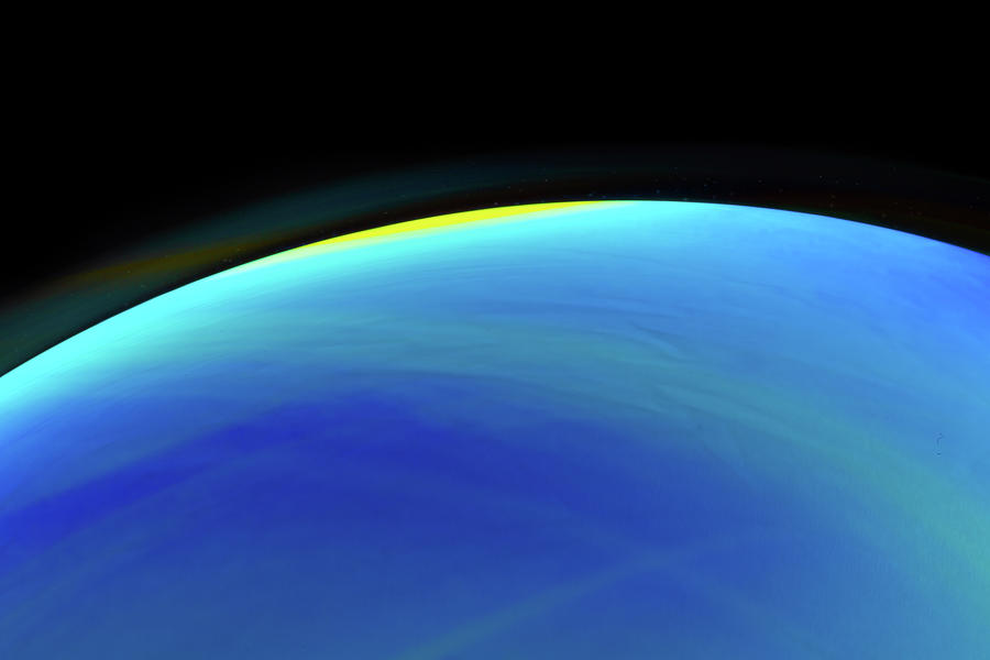 Blue Planet Soap Bubble Photograph by SR Green