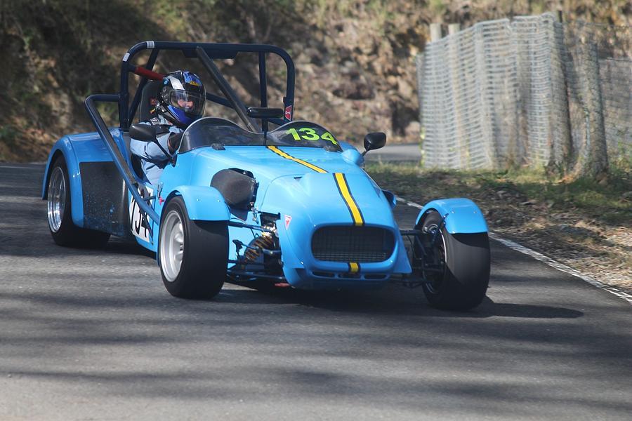 Blue Racer Photograph