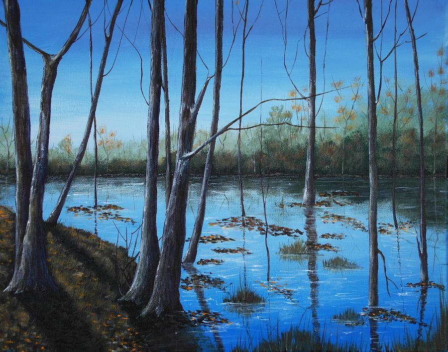 Blue Reflection by Anastasiya Malakhova
