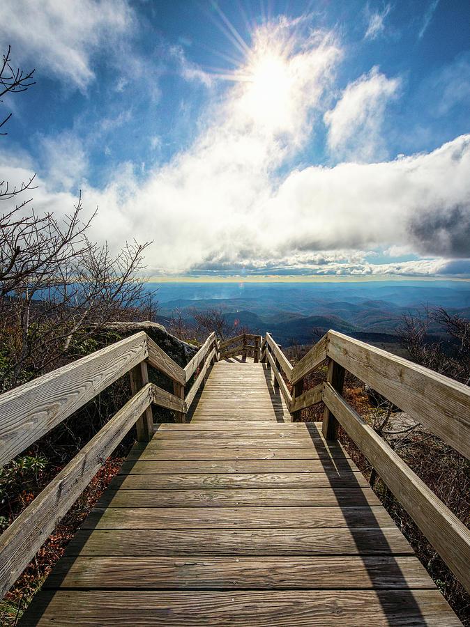 Blue Ridge Bridge to Heaven by Mike Koenig