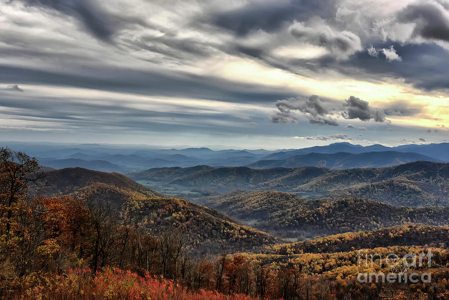 Blue Ridge Mountains by Lois Bryan