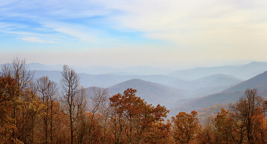 Blue Ridge Panorama Color by Joni Eskridge