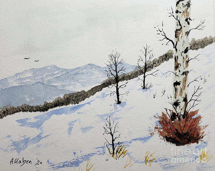 Blue Ridge Winter by Stanton Allaben