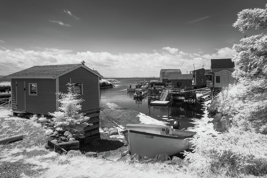 Blue Rocks Harbour Photograph