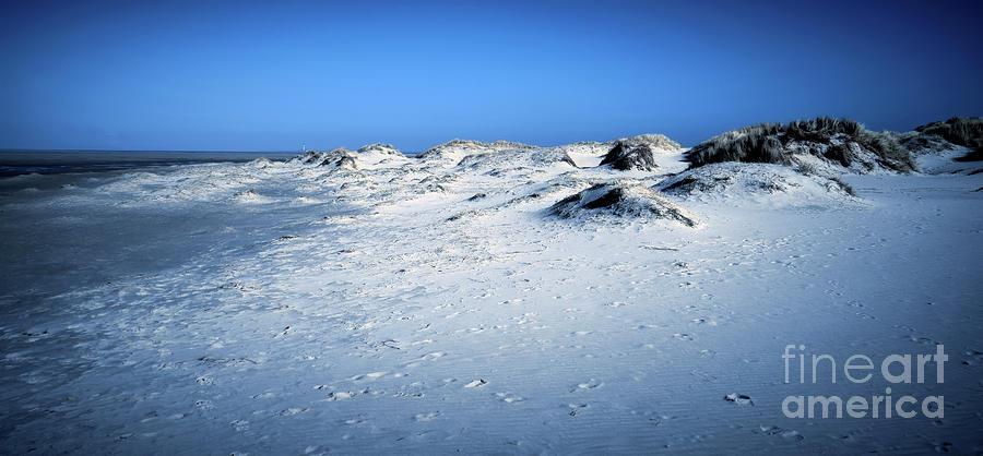 Blue Sand Photograph
