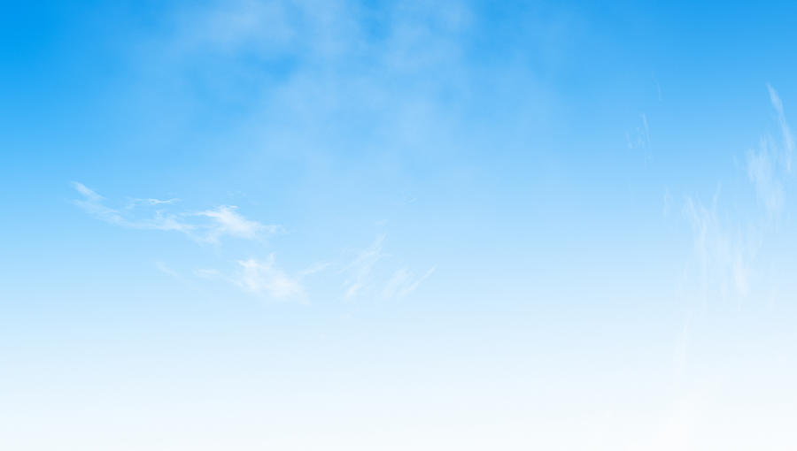 Blue Sky Background Photograph by Fotograzia