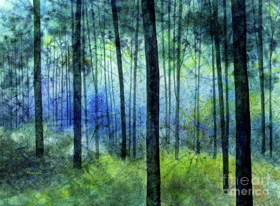 Blue Symphony Painting