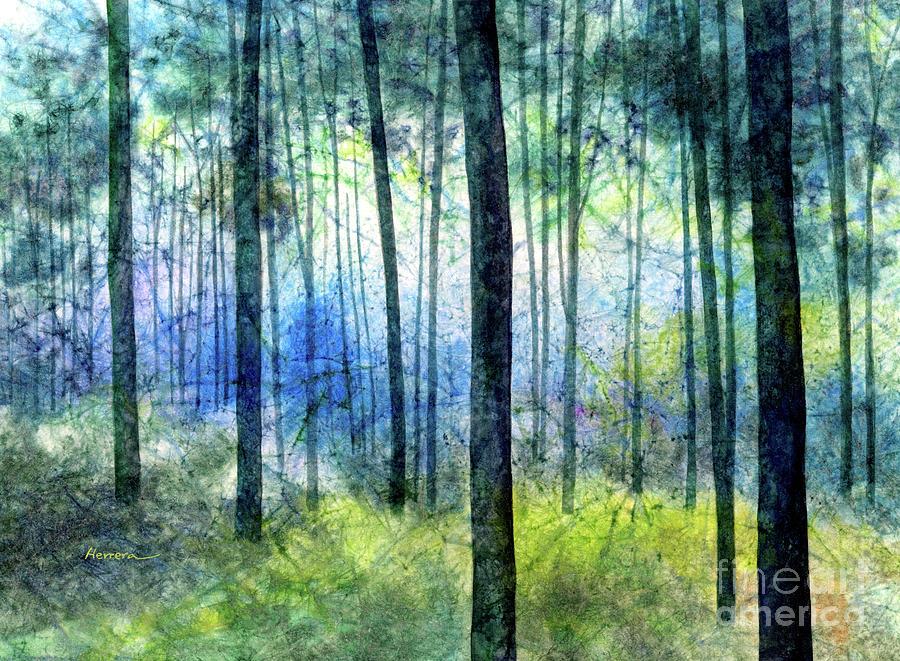 Blue Symphony-pastel Colors Painting