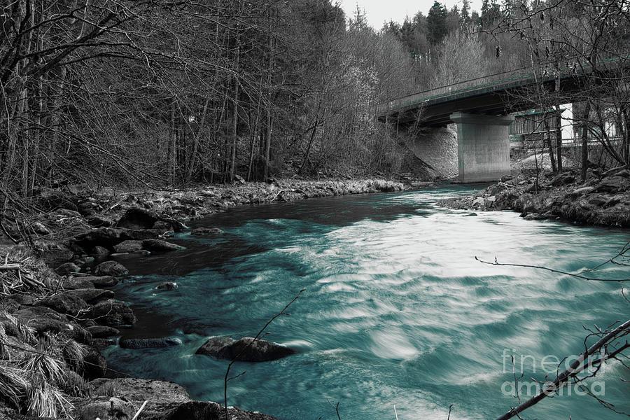 Blue Water Photograph