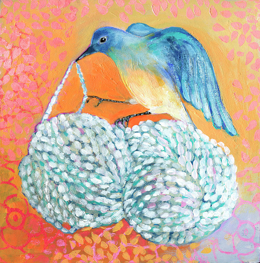 Bluebird Builds a Nest by Jennifer Lommers