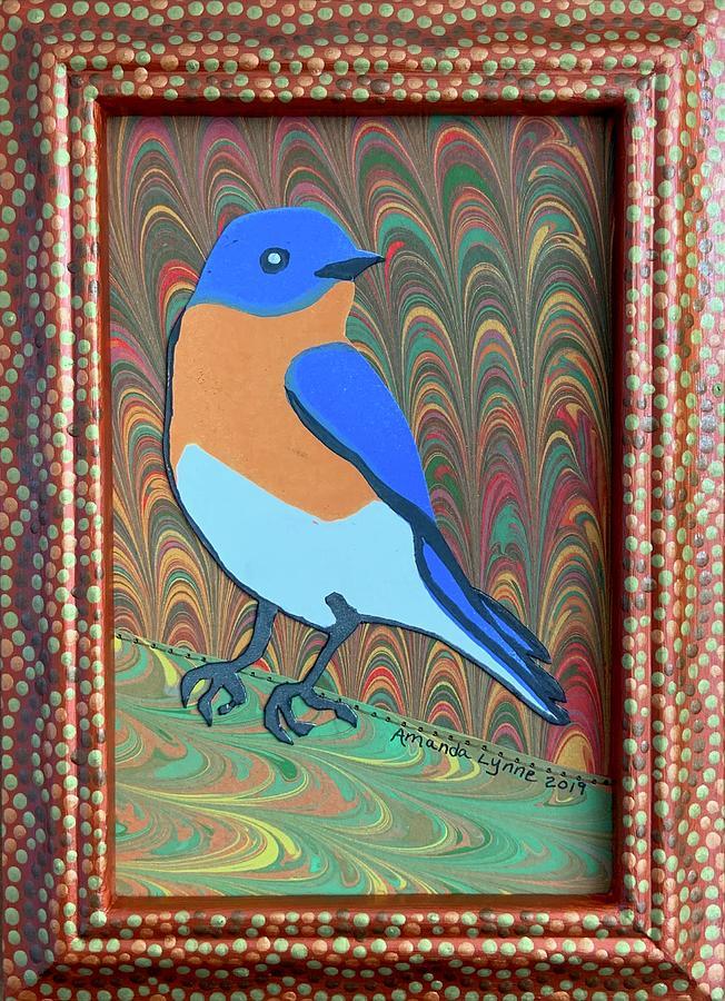 Bluebird of Happiness by Amanda Lynne
