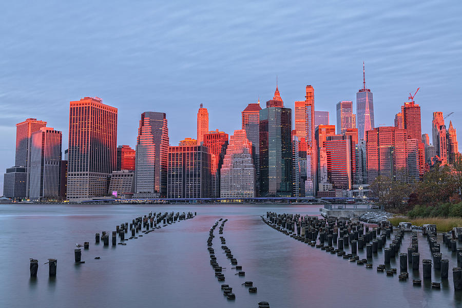 Blushing Skyline by Angelo Marcialis