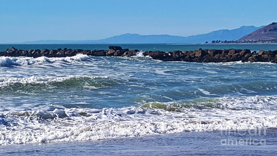 Blustery January Waters Photograph
