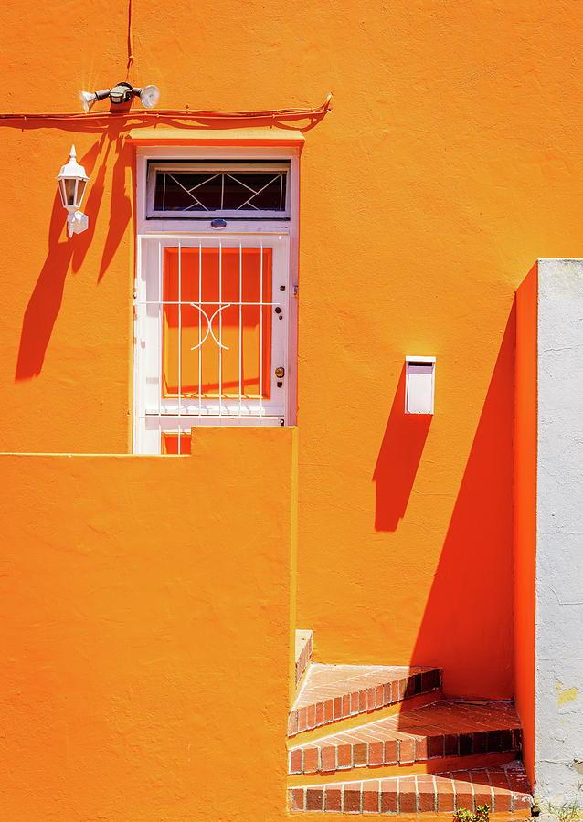 Bo-kaap House Facade Photograph