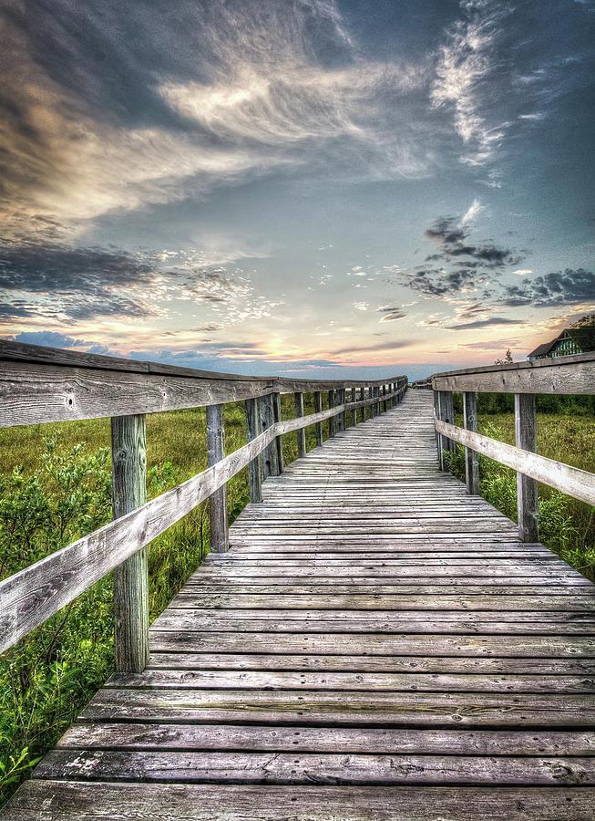 Boardwalk Photograph by Eden Watt