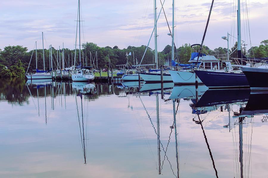 Boats At Twilight Photograph