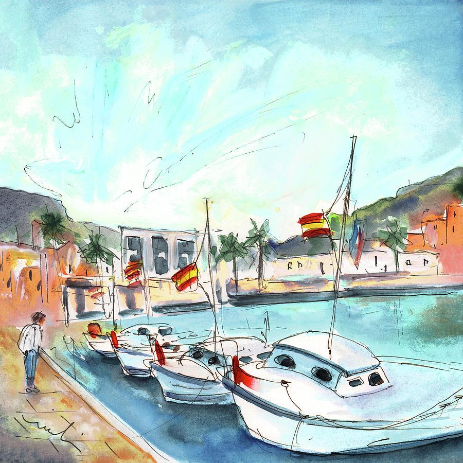 Boats In Mallorca by Miki De Goodaboom