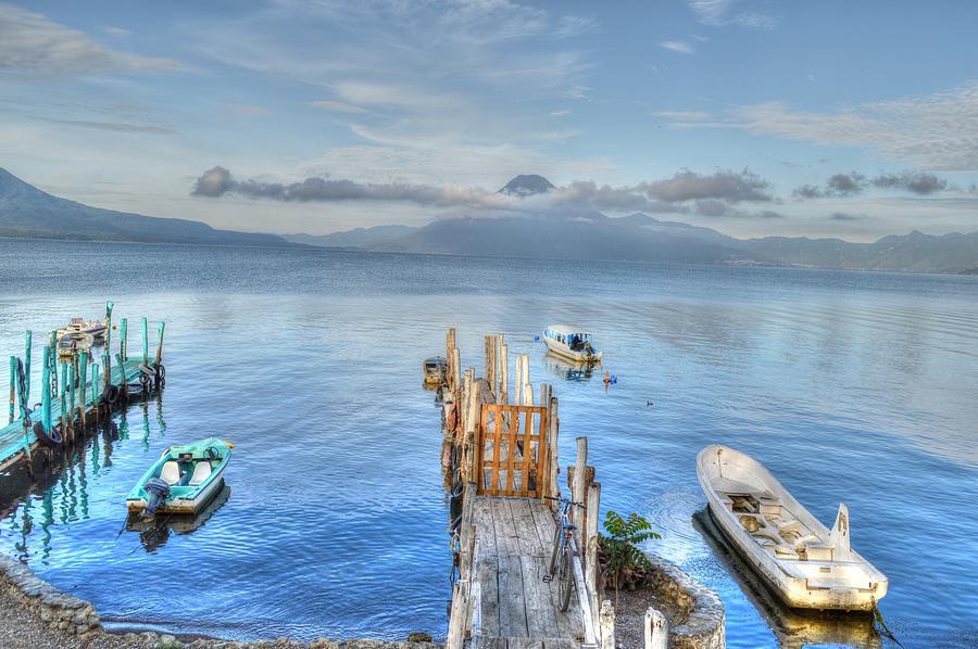 Boats of Guatemala by Bill Hamilton