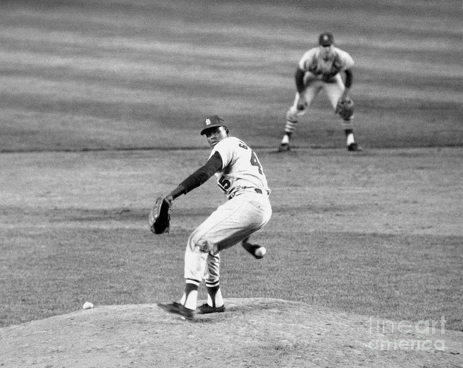 Bob Gibson Photograph by National Baseball Hall Of Fame Library