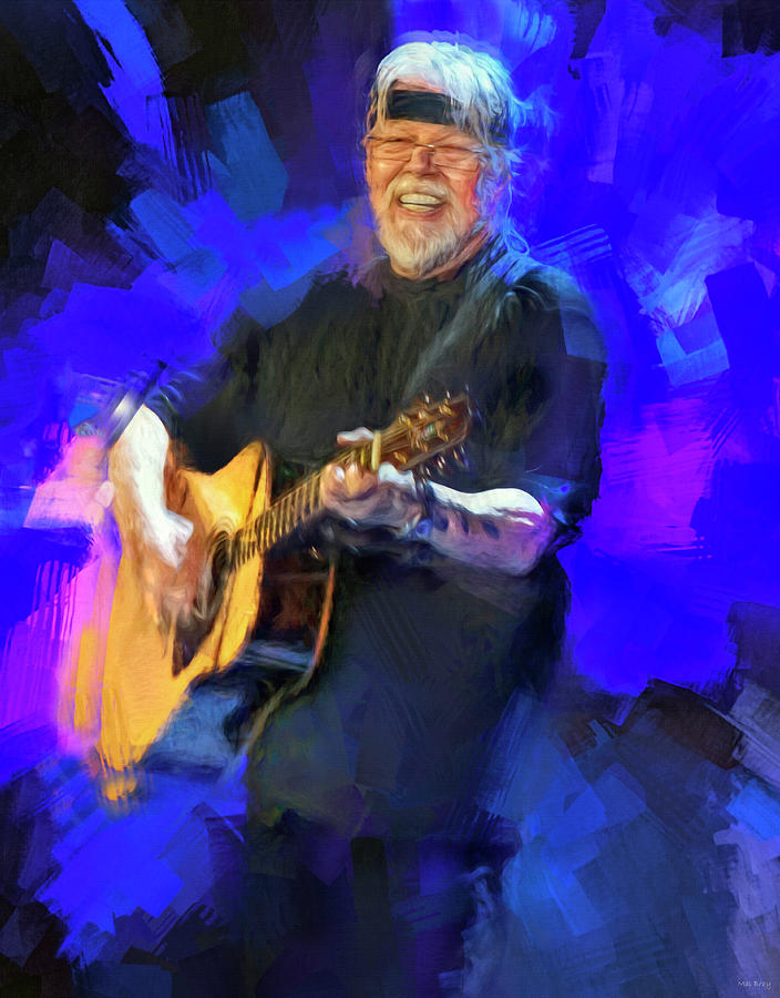 Bob Seger Mixed Media - Bob Seger by Mal Bray