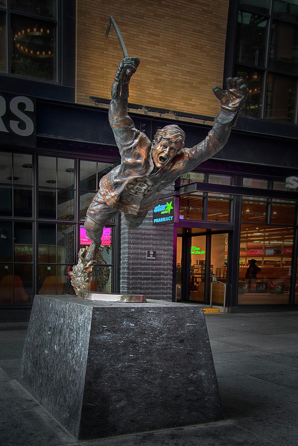 Bobby Orr Statue Boston Photograph