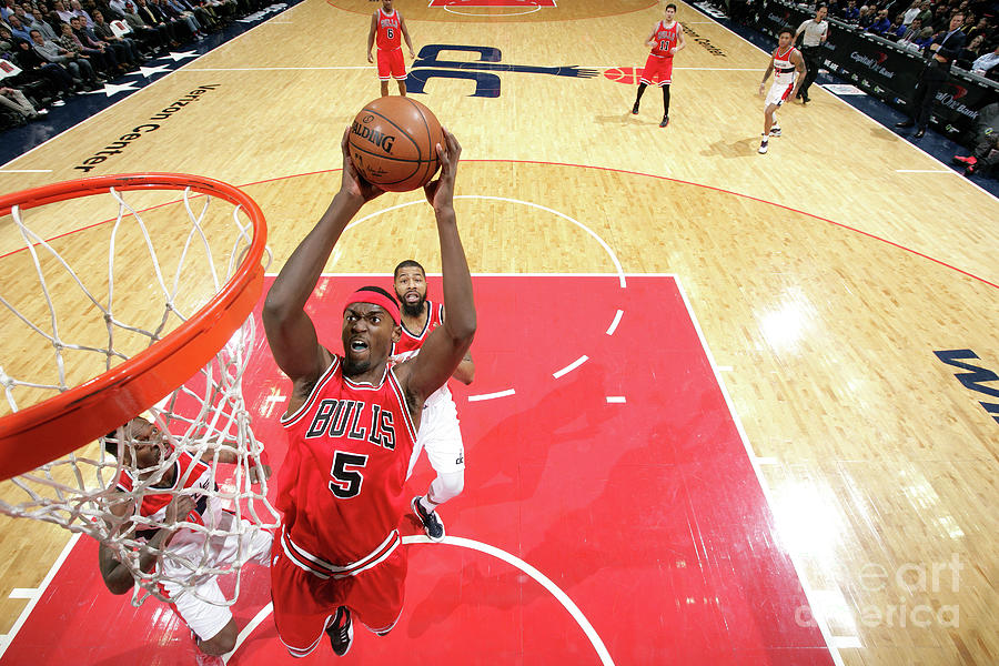 Bobby Portis Photograph by Ned Dishman