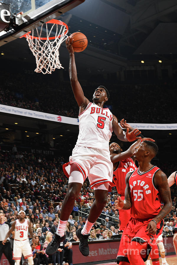 Bobby Portis Photograph by Ron Turenne