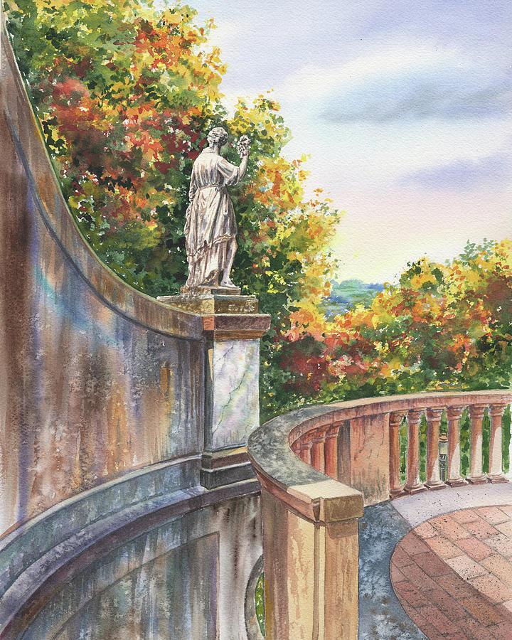 Boboli Gardens Italy Florence In Fall by Irina Sztukowski